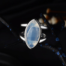Everoyal Vintage Silver 925 Sterling Rings For Girls Party Accessories Female Personality Crystal Women Jewelry Lover