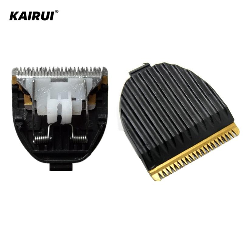 цены Replacement original stainless steel head hair clipper blade for hair trimmer KAIRUI HC001 HC-001 Razor
