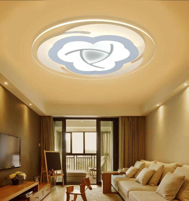 ᐂSlim Acryl Bloem LED Plafondlamp Woonkamer Slaapkamer Studeerkamer ...