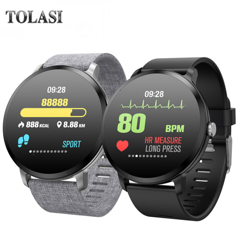 V11 Smart Watch IP67 Waterproof Sport Prdometer Fitness Tracker Heart Rate Monitor Alarm Clock Smartwatch For Xiaomi Huawei colmi v11 smart watch ip67 waterproof tempered glass activity fitness tracker heart rate monitor brim men women smartwatch