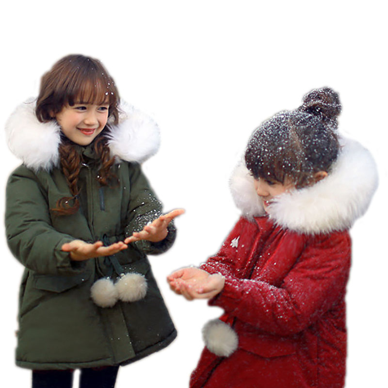kids coats girls winter 2017 new children winter jackets for girls medium long big fur collar down jackets for girls -30 degree new arrival argyle winter jackets mens 2017 casual turn down collar chaquetas hombre slim fit jaqueta masculina inverno