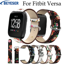 New Leather Strap For Fitbit Versa band strap Bracelet Wristbands Replace Accessories watch bracelet belt