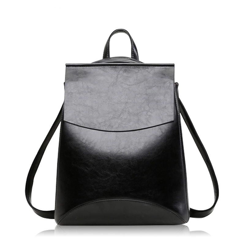 2019 HOT Fashion Women Shoulders Backpack High quality PU leather Female Youth backpack For Teenage Girls School mochila Bags in Backpacks from Luggage Bags