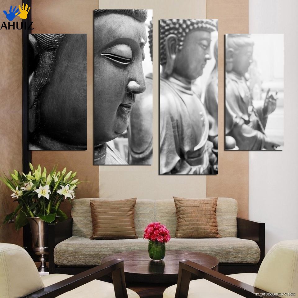 Buddha Gesicht Leinwand-kaufen Billigbuddha Gesicht Leinwand ... Buddha Deko Wohnzimmer