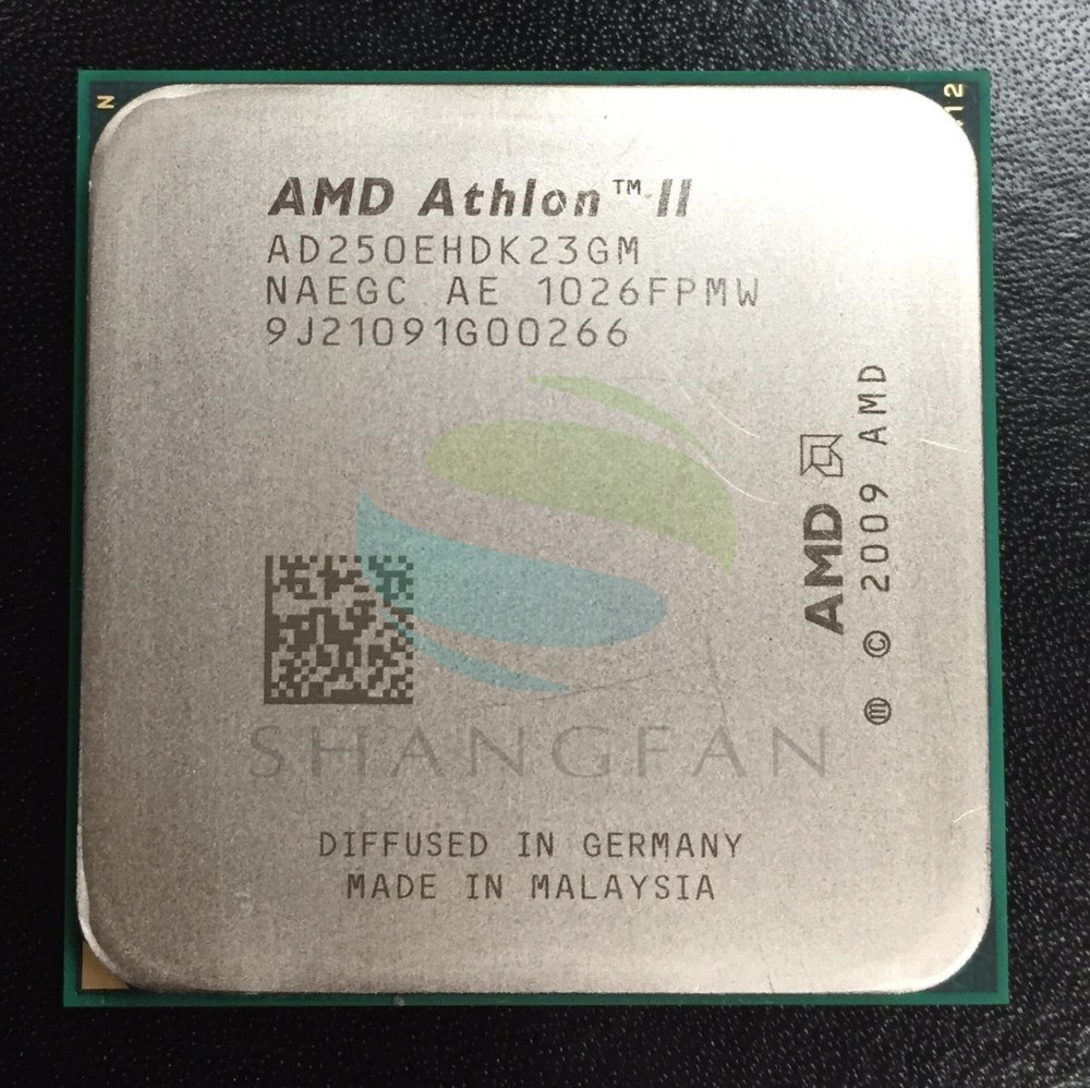 AMD Athlon II X2 250e 3 GHz Dual-Core CPU Processeur AD250EHDK23GM Socket AM3 938pin