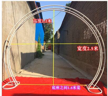 Sakura arch - arch - shaped flower door wedding truss arch - European arch.012Sakura arch - arch - shaped flower door wedding truss arch - European arch.012