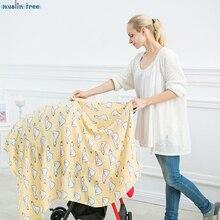 Nouveau-né Muslin Swaddle Bébé Multi-utiliser Organique Bambou Coton Couverture Infantile Parisarc Croix Wrap