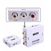 Мини CVBS 3 RCA AV для HDMI конвертер Кабель-адаптер до масштабирования 1080 P/720 P аудио/видео для ТВ/VHS/VCR/DVD совместимый NTSC/PAL