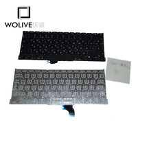 Wolive Genuine Brand new Keyboard language version RU For Macbook Pro Retina 13″ A1502 Replacement ME864 ME865 ME866