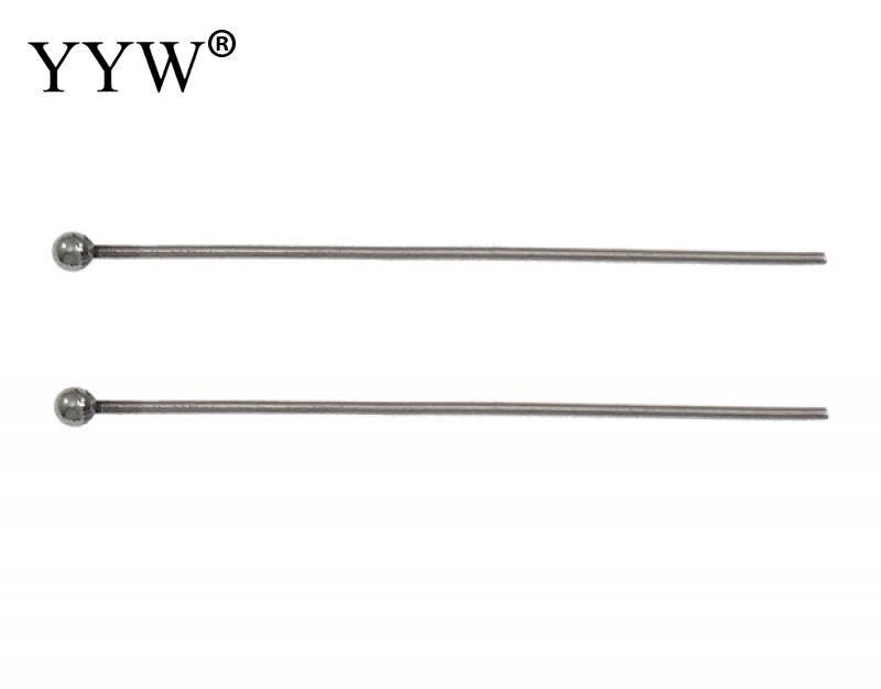 Нержавеющаясталь шаровой головкой Булавки более размеров для выбора оригинальный цвет 2000 шт./лот Продавец Лота