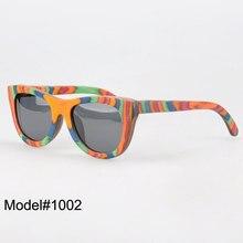 BV1002 Unisex new fashion colorful nature wood polarized sunglasses  sunshade  UV400
