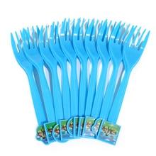 Cartoon Plastic Forks 10 pcs/lot
