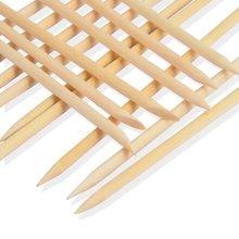 10 шт./компл. дизайн ногтей толкатель для кутикулы апельсиновые деревянные палочки для удаления кутикулы маникюрный Педикюр Уход