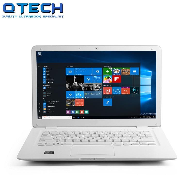 14.1 Inch Laptop PC Computer cpu Intel Windows7 10 8GB RAM 750GB Harddisk Student Office WIFI Azerty Russian Spanish Keyboard