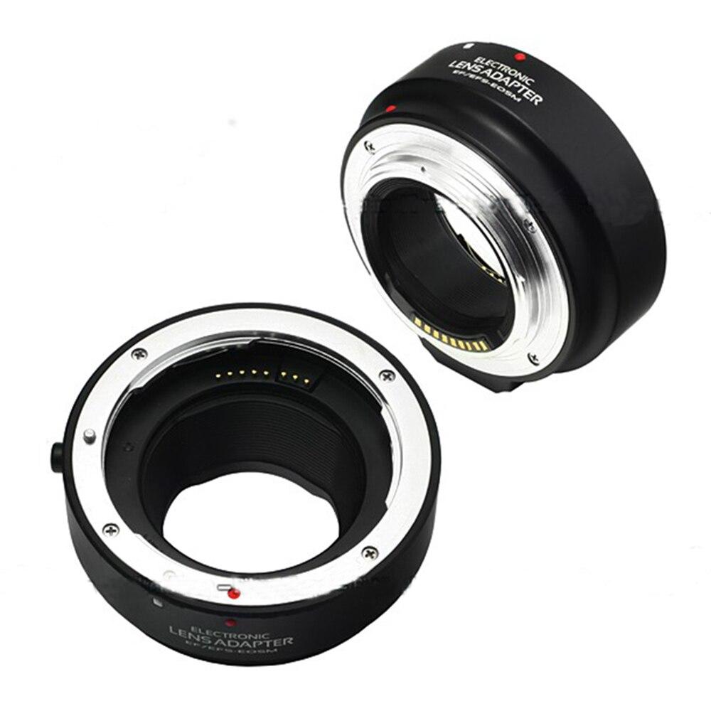 Électronique AF Mise Au Point Automatique Adaptateur pour Canon EF EF-S lens pour EOS M M1 M2 M3 Caméra