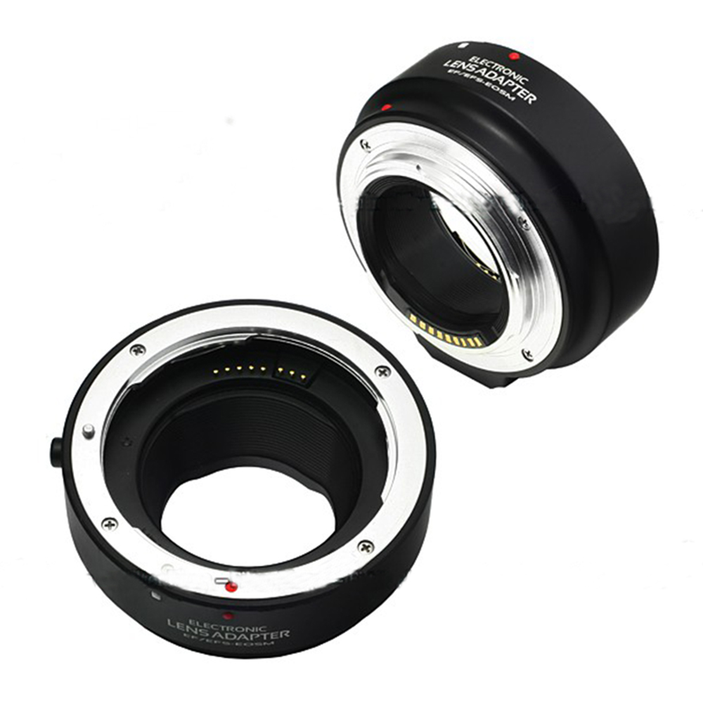 Adaptateur de mise au point automatique électronique AF pour objectif Canon EF EF-S vers appareil photo EOS M M1 M2 M3