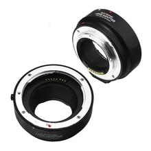 Af eletrônico auto foco adaptador para canon ef ef-s-lente para eos m câmera m1 m2 m3