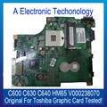 Оригинал Видеокарта Для Toshiba Для Satellite C630 C640 C600 HM65 Чип V000238070 Видеокарта Испытанная деятельность