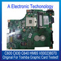 Original Graphic Card For Toshiba For Satellite C600 C630 C640 HM65 Chip V000238070 Display Card Tested Working