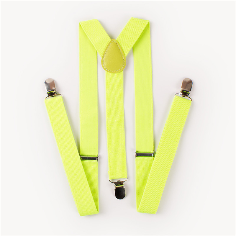 Mens Suspenders Women Casual Fashion Braces Leather Suspenders Adjustable 3 Clip-on Y Back Belt Straps