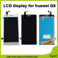 De alta calidad negro blanco pantalla lcd táctil digitalizador asamblea reemplazo para huawei ascend g6