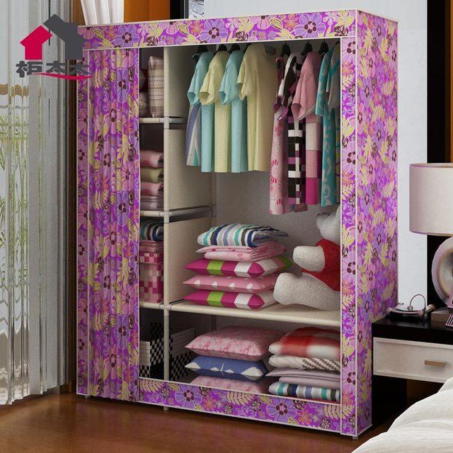 La nueva señora Oxford armario paño simple simple montaje armario ...