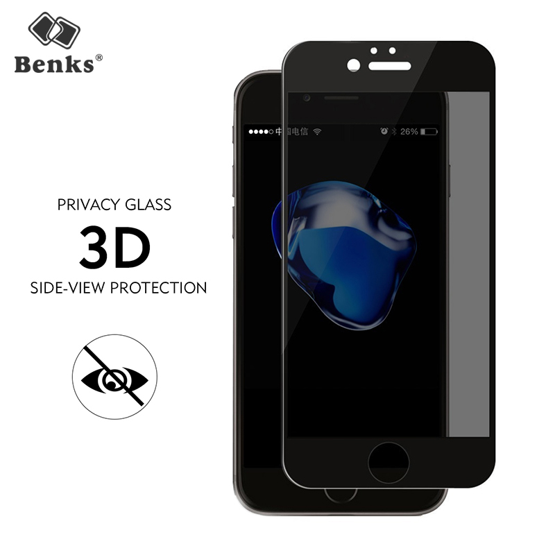 Benks Privacy Screen Protector For iPhone 6 6S 7 8 Plus