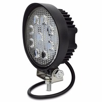 1X 4 Inch 27W LED Work Light Flood Fog Offroad ATV 4x4 Driving Lamp 12V For