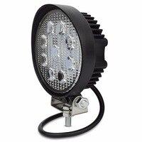 1X 4 Inch 27W LED Work Light Flood Fog Offroad ATV 4x4 Driving Lamp 12V For