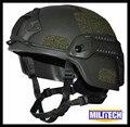 M/LG Oliver Drab MICH NIJ Level IIIA Tactical Bulletproof Kevlar Helmet ACH ARC Tactical OCC Dial Liner Aramid Ballistic Helmet