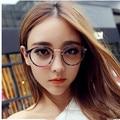 Милый стиль старинные мужская-очки женщины очки круглые очки кадр оптических кадр очки óculos Femininos Gafas