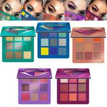 9 renk göz farı paleti pırıltılı mat hediye göz farı kozmetik Glitter mat göz farı kalıcı çıplak pırıltılı makyaj göz