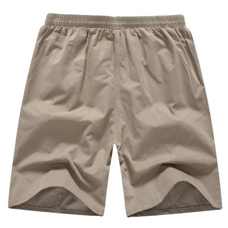HEFLASHOR nowy mężczyźni na co dzień szorty lato jednolity kolor męskie spodenki Homme plaża luźne Masculina biegaczy znosić krótkie spodnie i spódnice