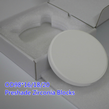 Dental CAD CAM Preshade Zirconia Discs Block Zirconium Disk Ceramic Blocks for Open CADCAM Milling Equipment Lab Material 4pcs od95x16mm dental zirconium ceramic blocks zirconia block zirkonzahn cad cam system high translucent dental zirconia block