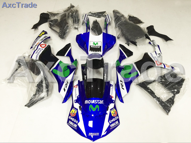 Motorcycle Fairings For Yamaha YZF-R1000 YZF-R1 YZF 1000 R1 2015 2016 2017 YZF1000 ABS Plastic Injection Fairing Bodywork Kit injection molding motorcycle abs plastic bodywork fairing kit fit for yamaha yzf1000 r1 2015 2016 2017 colours fairing parts yzf