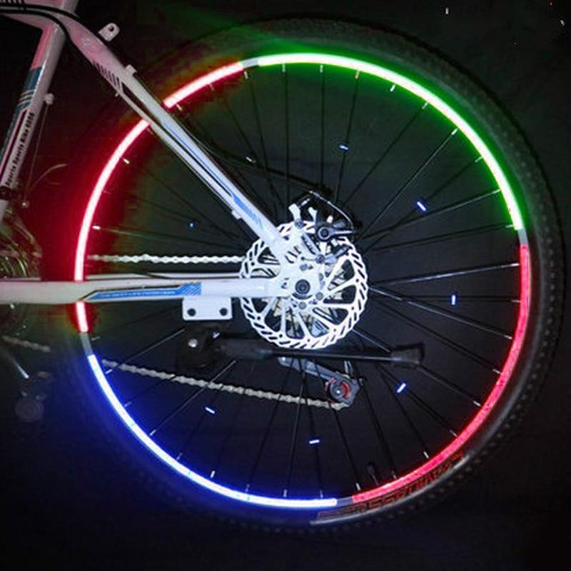 1pcs Bike Wheel Reflective Mount Clip Warning Bicycle bike Spoke Reflector S1