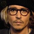 Johnny Depp Glasses Clear Vintage Luxury Brand Rivet Men Eyewear Frames Design Retro Optical Spectacle Glasses Frames Eyeglasses