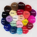 DIY 12PCS Wholesale Real Rex Rabbit Fur Very Soft Fluffy Pom Pom ball for Key Chain Purse Bag Car Pendants Charms Acccessories