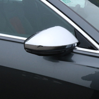 Car accessories For Audi A6 C8 2019 Rear View Rearview Mirror Cover Trim Car Rearview Mirror Protector Strip Sticker