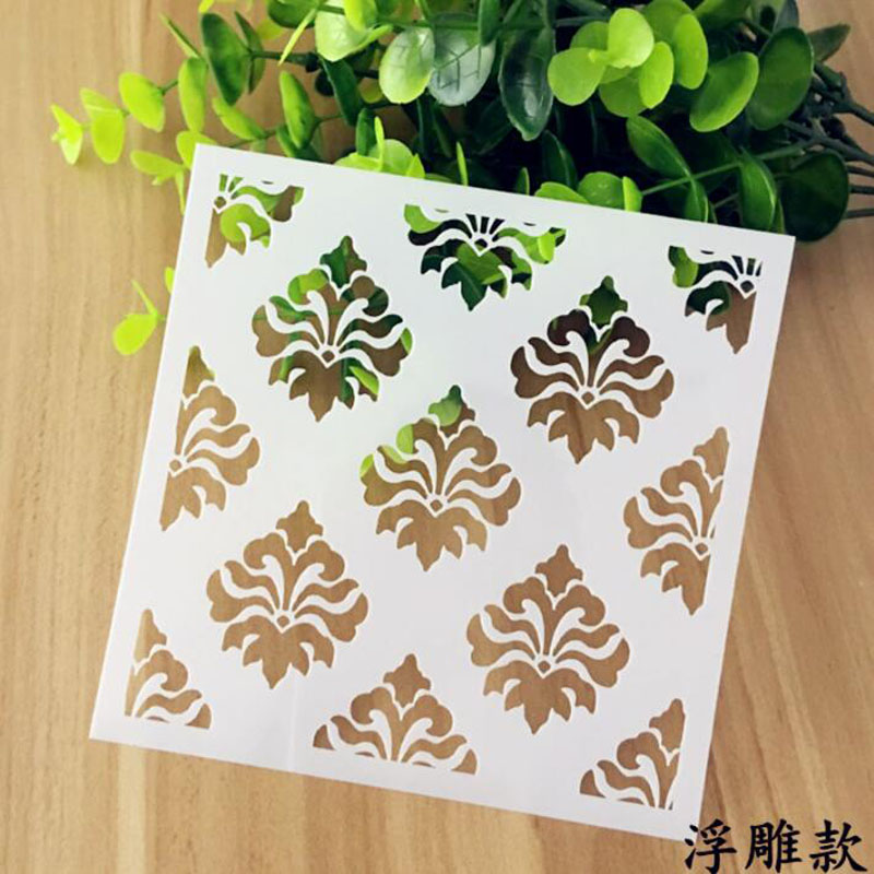 Bullet Journal Supplies Layering Emboss Stencils Wall Painting Scrapbook Coloring Embossing Album Decorative Paper Card Template