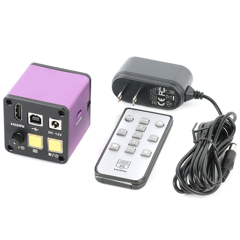 14MP HDMI USB Microscope numérique électrique industriel caméra c-mount Microscope vidéo pour l'inspection de laboratoire de réparation de carte PCB de téléphone