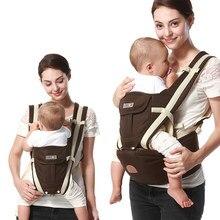 Nouveau Multifonction Extérieure Kangourou porte-bébé Avec Capot sac à dos  porté en écharpe Infantile Siège Pour Hanche Hipseat . 8ba0fe4e2be