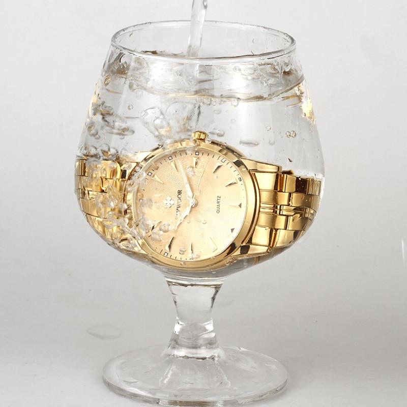 Top brändi luksus meeste veekindel roostevabast terasest kuld kellad - Meeste käekellad - Foto 6