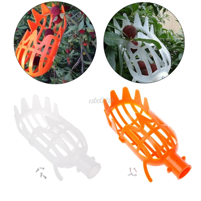 1Pc Plastic Fruit Picker Without Pole Fruit Collector Gardening Picking Tool Garden Tool S08 Drop ship цены