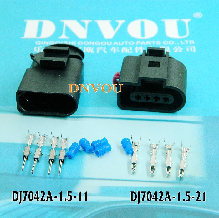 1 set Automotive connectors DJ7042A-1.5 mass intake pressure sensor  Electrical Wire connector plug free delivery intake pressure sensor 0261230011 genuine