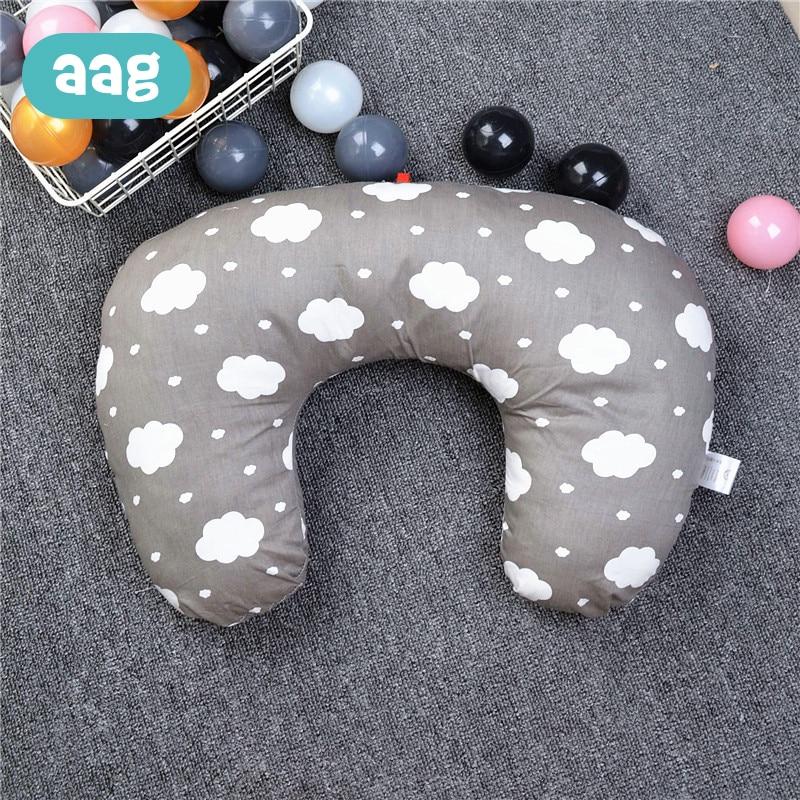 AAG Baby Breastfeeding Cushion Pillow Lactation Pregnancy Nursing Maternity Pillowcase Nursing Waist Cushion Cover Infant Cuddle