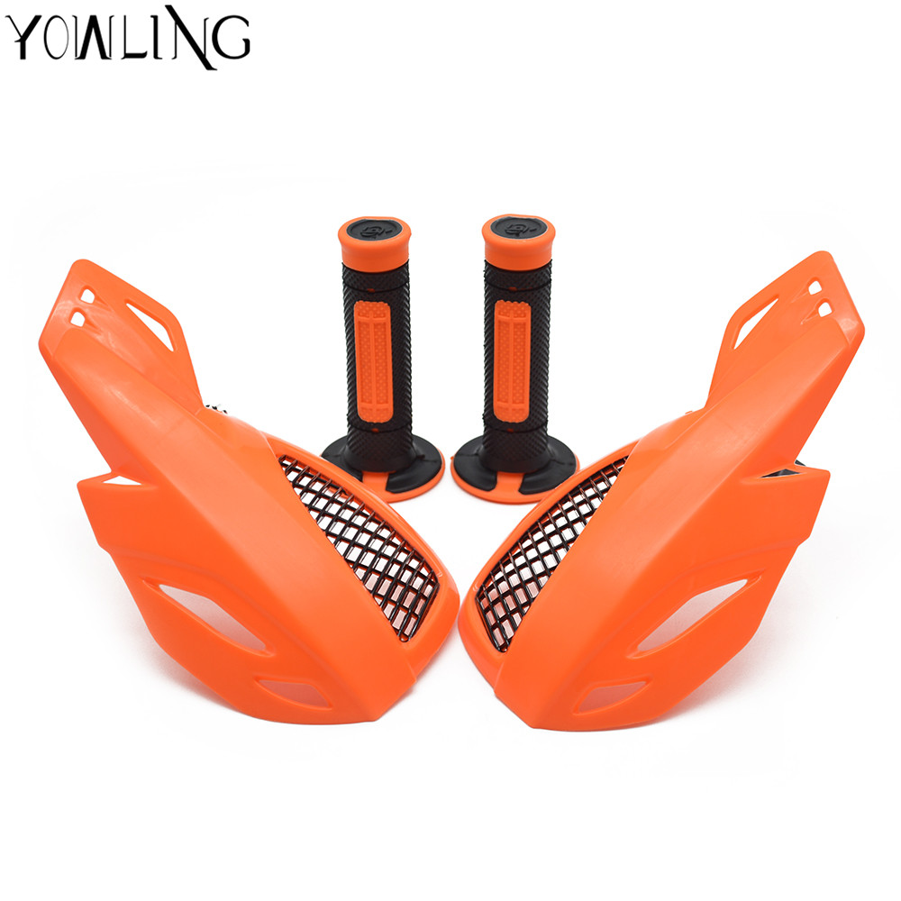 motorcycle handle guards hand grip For KTM EXC EXCF SX SXF SXS MXC XC XCW XCF XCFW 50 65 85 125 150 200 250 300 350 400 450 500 motorcycle front rider seat leather cover for ktm 125 200 390 duke