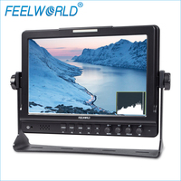 Feelworld Official Store 10 1 IPS 1280x800 3G SDI HDMI Camera Top Monitor With Peaking Histogram