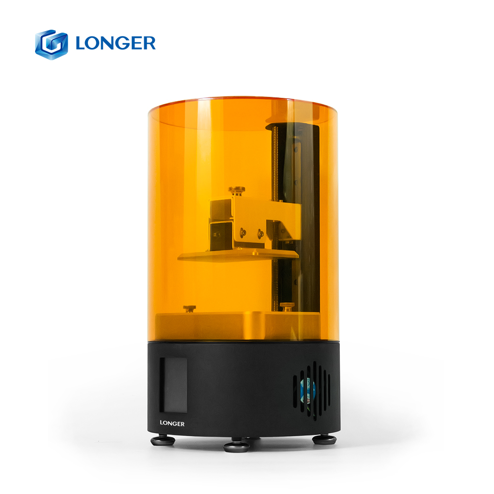 Più Orange120 LCD 3D Stampante Assemblato Più Il Formato Dello Schermo di 2K UV Off-Line di Stampa Impresora Resina 3d Drucker