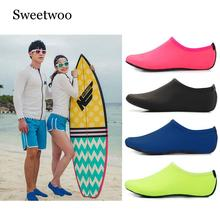 Men Women Water Shoes Swimming Solid Color Summer Aqua Beach Shoes, Seaside Sneaker Socks Slippers For Men, Zapatos Hombre